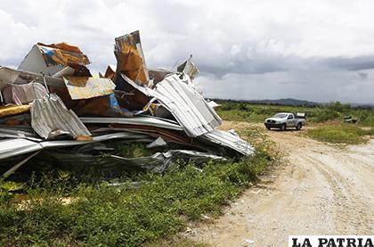 Residuos de lo que dejó el huracán María en 2017, en Puerto Rico /yimg.com