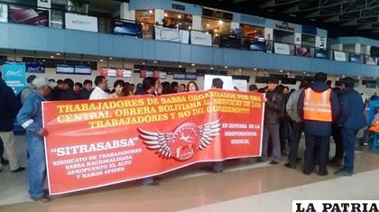 Trabajadores de Sabsa movilizados /ANF/ARCHIVO