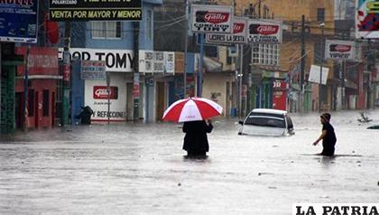 Un total de 122.339 guatemaltecos han sido afectados por el invierno de este año /El Nuevo Diario