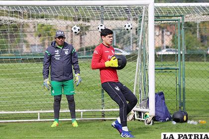 Carlos Lampe por el momento es considerado en el equipo titular