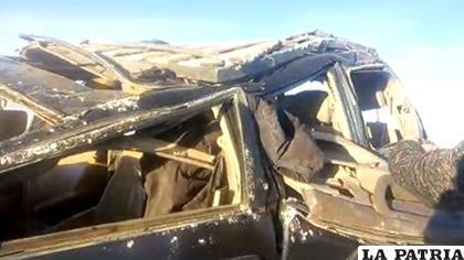 El accidente fue el domingo /Captura de pantalla Uyuni Cruz Andina