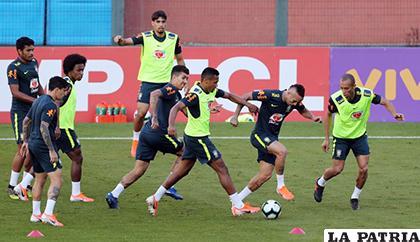 Los dirigidos por Tite se mentalizan en realizar una buena labor en la Copa América /elheraldo.co