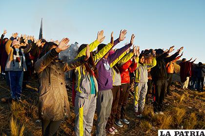 Celebración del Año Nuevo Andino es imperdible en Oruro /LA PATRIA/Archivo