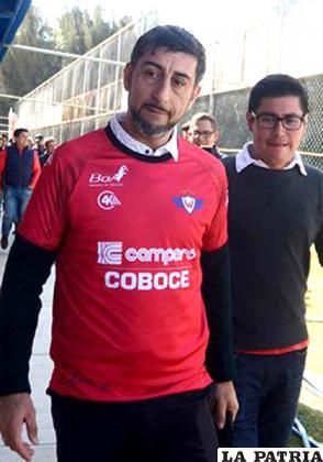 Cristian Díaz dirige a Wilstermann /cortesía club Wilstermann