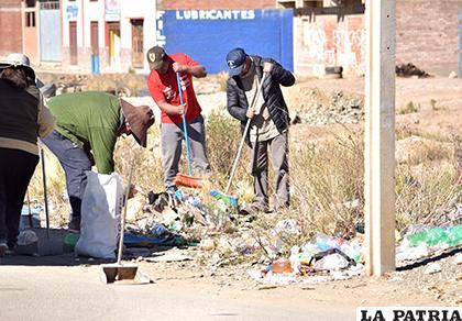 Varias juntas serán premiadas por su labor en la campaña de limpieza /LA PATRIA/ARCHIVO