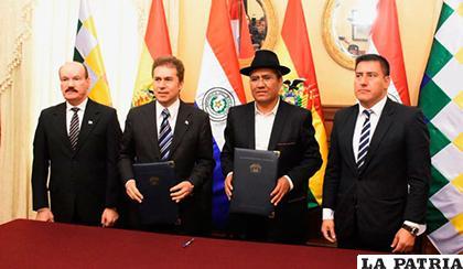 Quinta Reunión del Mecanismo de Diálogo 2+2 Bolivia-Paraguay /El Mundo Bolivia