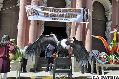 Actividades culturales en las calles de Oruro /LA PATRIA/ARCHIVO