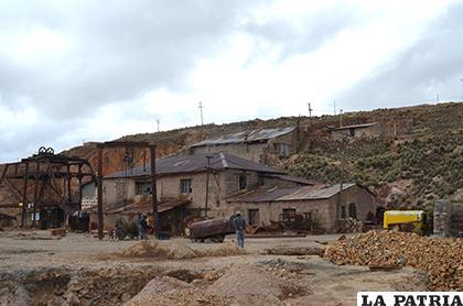 Uno de los vestigios mineros que tiene Morococala /LA PATRIA
