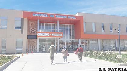 Frontis del bloque Oruro - Corea / LA PATRIA