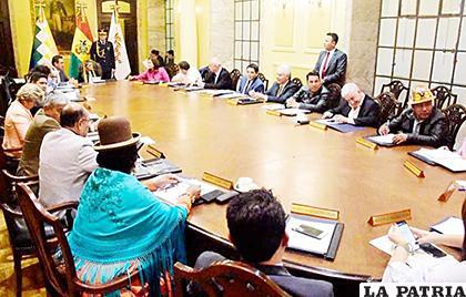 La mandataria ordenó al gabinete ministerial analizar los