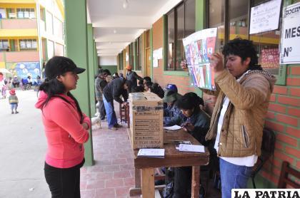 Además harán acompañamiento en las Elecciones Subnacionales /LA PATRIA /archivo