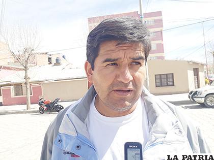 Alex Camacho responsable de los asuntos Covid de la delegación boliviana /LA PATRIA
