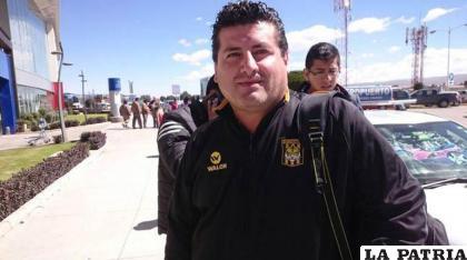 Adrián Monje director de Competiciones de la FBF /RR.SS.