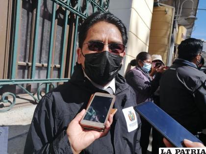 El viceministro de Defensa al Consumidor, Jorge Silva /LA PATRIA
