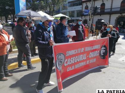 Trabajadores de Casegural exigen la destitución de la gerente general nacional /LA PATRIA