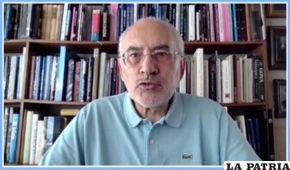El líder de Comunidad Ciudadana, Carlos Mesa /CAPTURA ERBOL