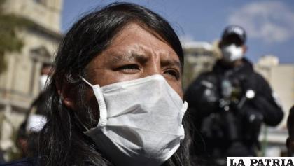 El activista, David Inca / OPINIÓN