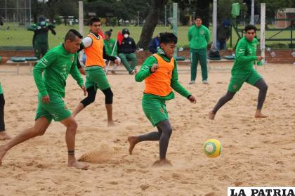 Ariel Zeballos espera debutar con la Verde en Brasil /RR.SS.