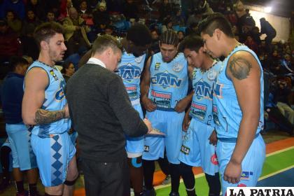 CAN es uno de los representantes orureños en el campeonato principal del baloncesto /LA PATRIA
