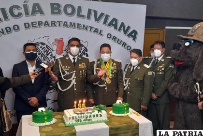 El comando departamental celebró el 195 aniversario /LA PATRIA