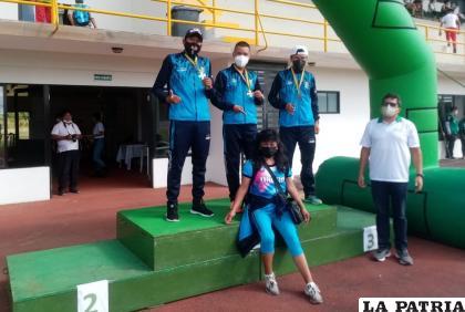 Los orureños fueron los mejores en la prueba de los 3 mil metros /Nemia Coca