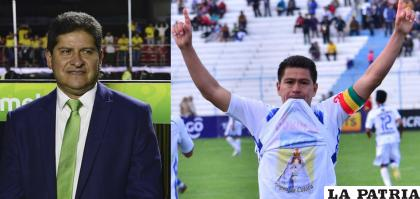 Villegas y Saucedo; el TAS no confirmó hasta ahora si se solucionó con Saucedo /LA PATRIA