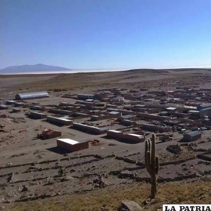 En el municipio de Coipasa hasta la fecha se registraron ocho casos positivos de los cuales solo uno está activo /Facebook