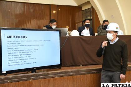 Los técnicos explicaron las múltiples observaciones encontradas en el proyecto /LA PATRIA
