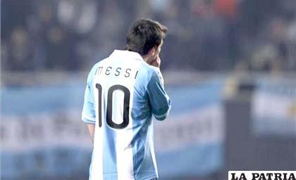 La molestia de Lionel Messi, luego del empate ante Bolivia