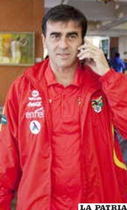 Gustavo Quinteros D.T. de Bolivia