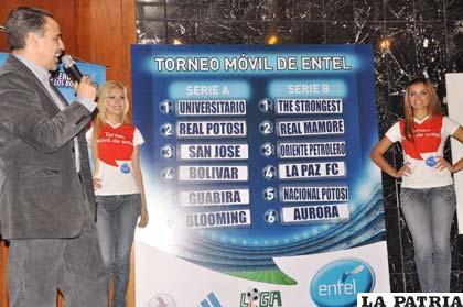 Ayer se realizó el sorteo de la Liga en Cochabamba