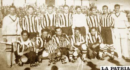 Bolívar Nimbles, equipo del año 1949