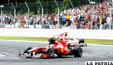 La máquina de Lewis Hamilton fue la más veloz de la competencia