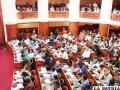 Bancadas opositoras denuncian discriminación