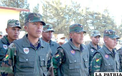 Las fuerzas castrenses fortalecerán el resguardo en las fronteras del país (mindef.gob.bo)