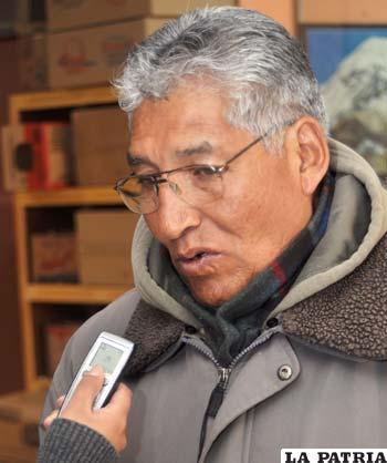 Secretario de Conflictos de la COD, Raúl Quiroga