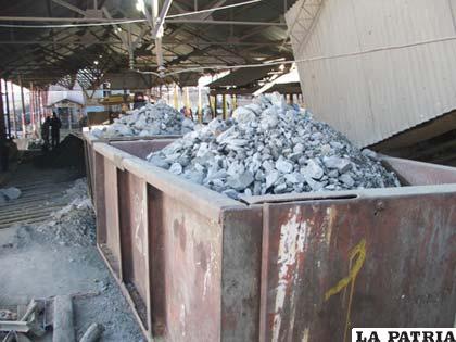 Minerales no alcanzan precios expectables en el mercado internacional