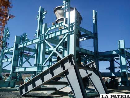 Horno Ausmelt permitirá duplicar la producción de estaño de la Empresa Metalúrgica de Vinto