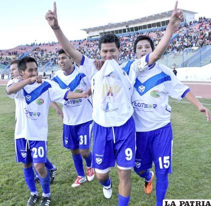 Saucedo anotó el gol de San José