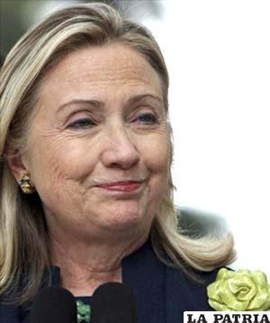 Secretaria de Estado de EE.UU., Hillary Clinton. EFE/Archivo