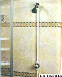 Instalaci n de una ducha for Llave de ducha pared