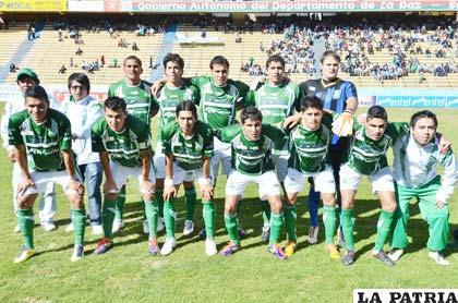El equipo de Petrolero de Yacuiba le dio una pequeña lección a Bolívar 1-0. (APG)