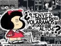 Mafalda la niña contestaria al sistema establecido