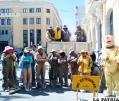 Guardia Municipal de la Construcción  retirará agregados acumulados en vía pública