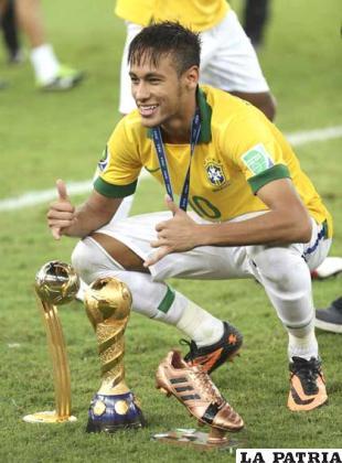 Neymar, el mejor jugador para la FIFA