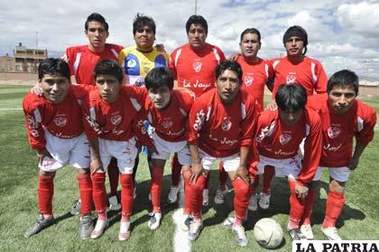 Jugadores de Atlético La Joya