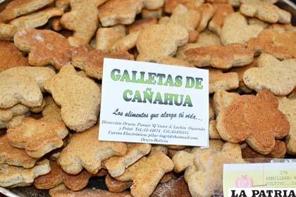 Producción de galletas a base de cañahua, otro cereal altiplánico de alto valor nutritivo