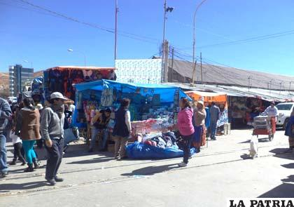 Esquina de la calle Bolívar y avenida 6 de Agosto