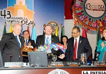 Representantes permanentes de los países miembros de la OEA se reunirán en sesión extraordinaria
