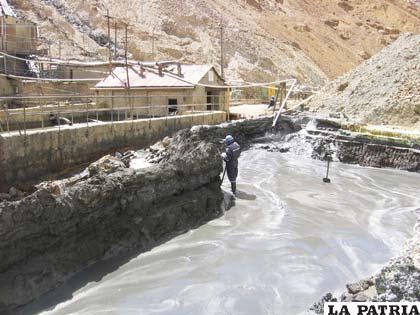 Empresa Minera Huanuni debe iniciar construcción del dique de colas en esta gestión